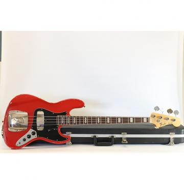 Custom WOW! Vintage Fender Jazz Bass 1968 Fiesta Red Refin