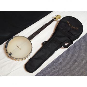 """Custom GOLD TONE CC-Carlin 12 5-string open-back Clawhammer BANJO new w/ BAG - 12"""" head"""