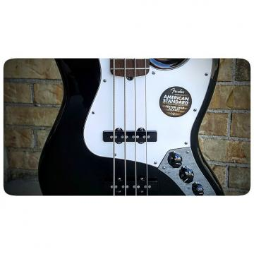 Custom Fender American Standard Jazz Bass Black