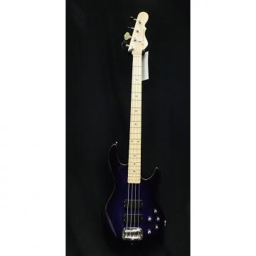 Custom G&L USA M-2000 Bass Guitar in Blueburst & Hardshell Case M2000  #1016