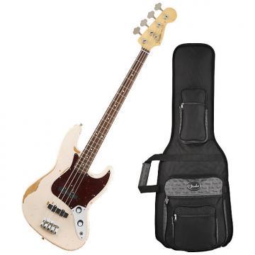 Custom Fender 014-1020-356 Flea Signature Artist Shell Pink Jazz Bass Guitar