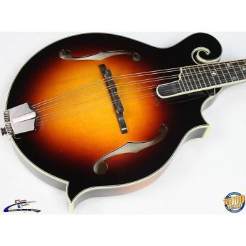 Custom Eastman MD815-SB F-Style Mandolin w/HFC, Solid Carved Spruce/Maple, DEMO! #37588