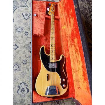 Custom Fender Telecaster Bass 1977 natural