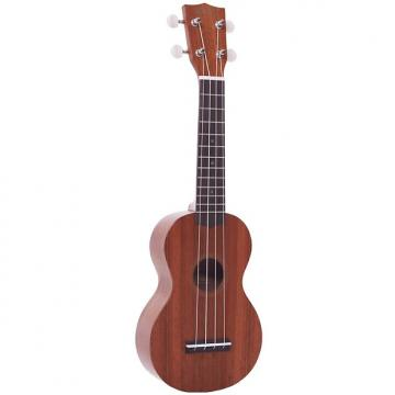 Custom Mahalo Soprano Ukulele - Java Series - Transparent Brown