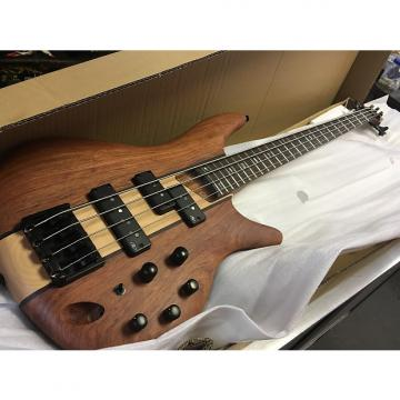 Custom Ibanez SR750NTF Electric Bass Guitar Natural Flat