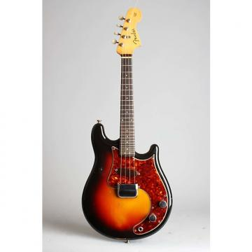 Custom Fender  Solid Body Electric Mandolin (1960), ser. #01493, original brown tolex hard shell case.