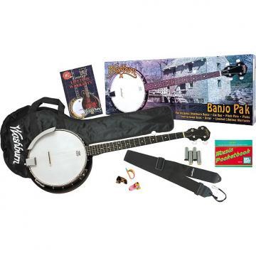 Custom Washburn B8 Banjo Package