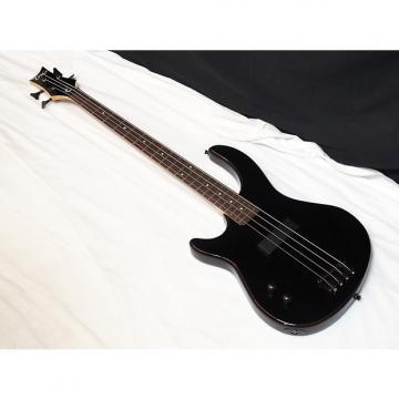 Custom DEAN Edge 09 4-string LEFTY BASS guitar new Black - Chrome Hardware - LEFT-HANDED - B-stock