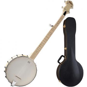 Custom Washburn B102 5-String Open Back Banjo Bundle