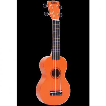 Custom Mahalo Rainbow Orange Soprano Ukulele