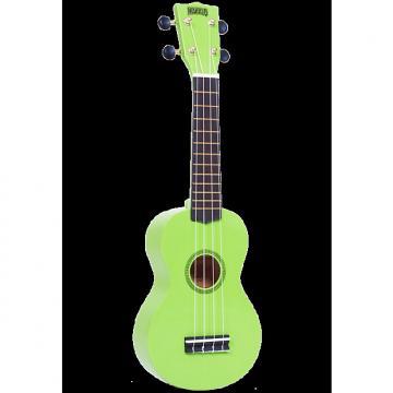 Custom Mahalo Rainbow Green Soprano Ukulele
