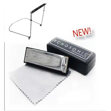 Custom Harmonicas & Harmonica holder - combo pack