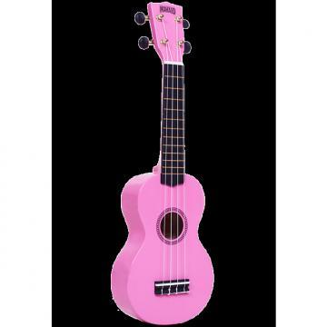 Custom Mahalo Rainbow Pink Soprano Ukulele