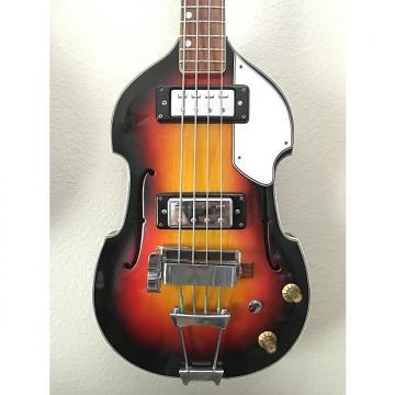 Custom Conqueror Bruno/Aria Violin Sunburst Scroll Bass Hofner Copy 60s MIJ
