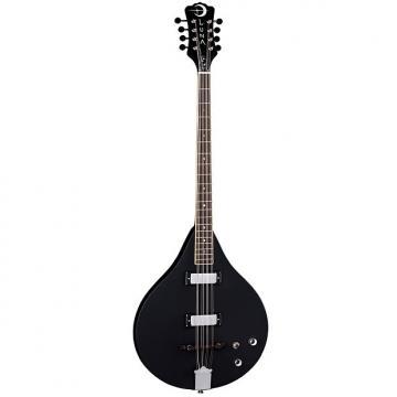 Custom Luna Guitars Moonbird Acoustic-Electric Bouzouki Satin Black