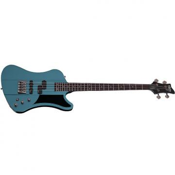 Custom Schecter Sixx Bass Pelham Blue PHB Electric Bass NEW