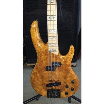 Custom ESP LTD RB1004 2015 Honey/Maple Burl