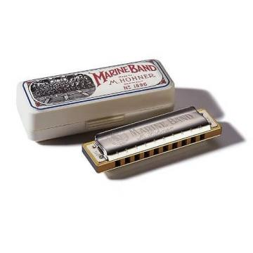 Custom Hohner Marine Band Harmonica, Key of C