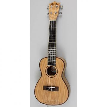 Custom Amahi UK880 Classic Quilted Ash Concert Ukulele - With Electronics