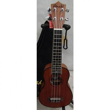 Custom Amahi UK220s-eq Classic Series Select Mahogany Ukulele w/gigbag