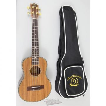 Custom Amahi Snail Series Ukulele Flamed Koa - Tenor