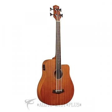 "Custom Gold Tone 23"" Scale  Fretless Acoustic-Electric MicroBass - I-MBASSFL-U -  00875116003234"