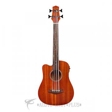 "Custom Gold Tone 23"" Scale Left-Handed Fretless Acoustic-Electric MicroBass  - I-MBASSFL-L-U - 008751160039"