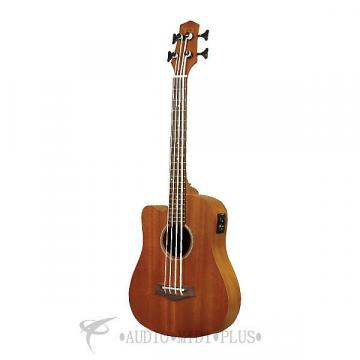 Custom Gold Tone Microbass Left Hand Acoustic Electric 23 retted & Fretless - I-MBASS-L-U - 00875116003340