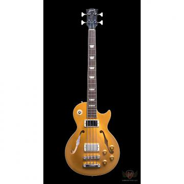 Custom Gibson Custom Shop 2015 ES-Les Paul Bass - Gold Top (738)