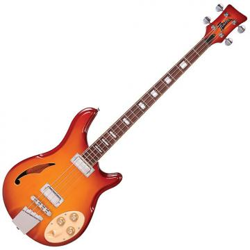 Custom ITALIA RIMINI 4 BASS - HONEY SUNBURST AND GIG BAG