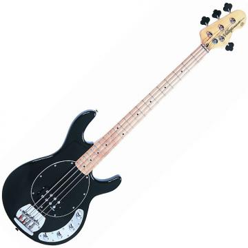 Custom Vintage V96 Active Bass, Gloss Black