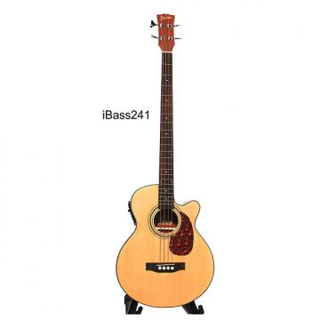 Custom Acoustic Bass Guitar 49 inch installed EQ iBass241