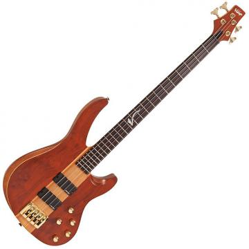 Custom Vintage Bubinga Series V10004 Active Bass Guitar