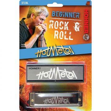 Custom Hohner 572BL Hot Metal Harmonica - Key of G