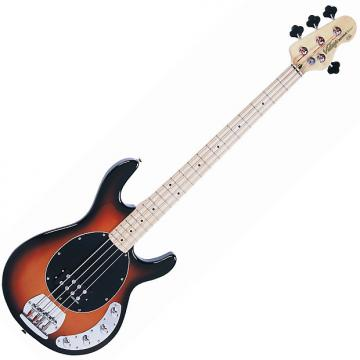 Custom Vintage V964SSB Active Bass Guitar, Sunburst