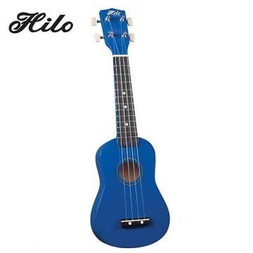 Custom Hilo Ukuleles 2500BL Soprano Ukulele - Blue