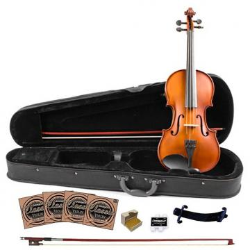 Custom Rise by Sawtooth Student Violin with Carved Solid Spruce Top & Maple Back and Sides, 3/4 Size
