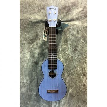 Custom Martin OX Ukulele Bamboo Blue Soprano