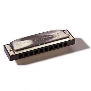 Custom Hohner 560BL Special 20 Harmonica - Key of G