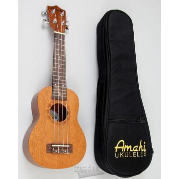 Custom Amahi UK210 Select Mahogany Series Ukulele | Includes Deluxe Bag - Soprano