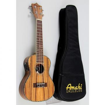 Custom Amahi UK660 Select Acacia Koa Ukulele - Concert - With Electronics