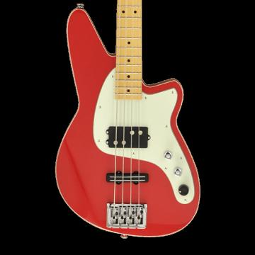 Custom Reverend Decision Bass - Party Red
