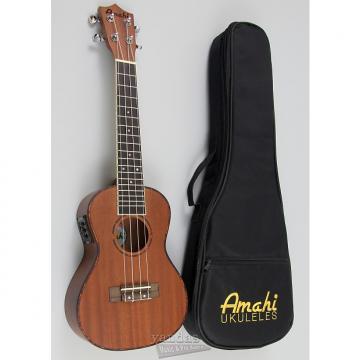 Custom Amahi UK220 Classic Series Select Mahogany Ukulele - Concert W/ Electronics