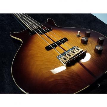 Custom Vintage Washburn Vulture II Bass with Redesigned bridge, custom wiring.  w/HSC