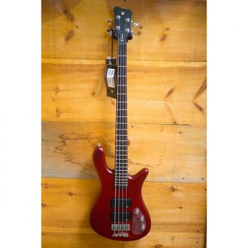 Custom Warwick Rockbass Streamer 4-String Electric Bass Guitar Red NEW