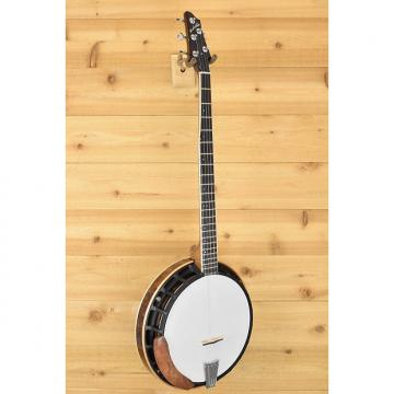 Custom New Nechville Midnight Phantom Walnut Resonator Banjo (#2239)