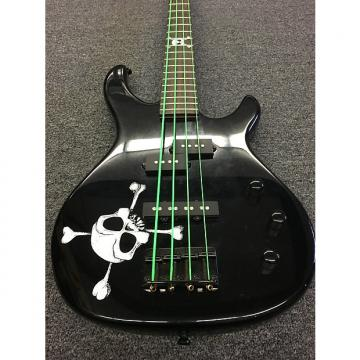 Custom Squier MB-4 Skull and Crossbones with deluxe Fender gig bag