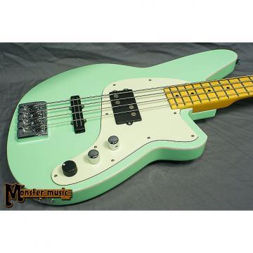 Custom Reverend Decision Bass Oceanside Green