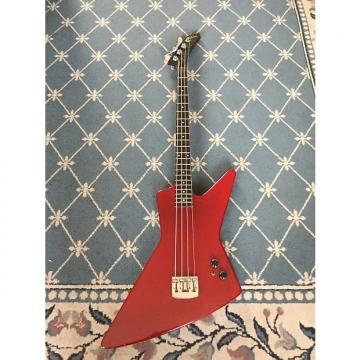 Custom Gibson Rare Prototype Explorer Bass Early 1980's Red