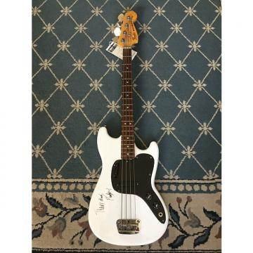 Custom Fender Musicmaster Bass 1978 White